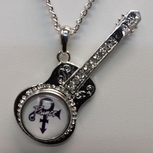 Jewelry - Legendary performer Prince guitar Necklace